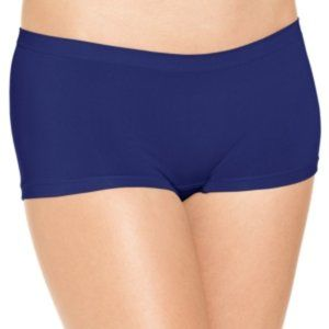Jennifer Moore Seamless Boyshort , -Small Navy